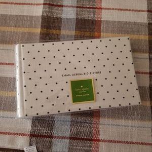 NWT kate spade small photo album